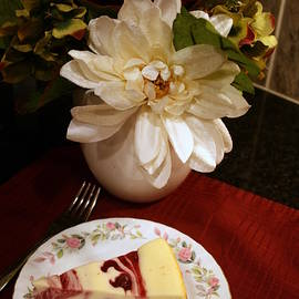 Delicious Cheesecake by Kay Novy