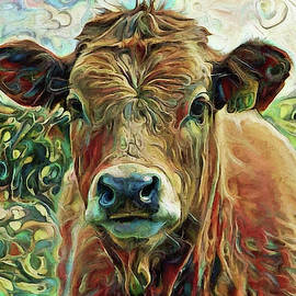 Delilah The Calf by Peggy Collins