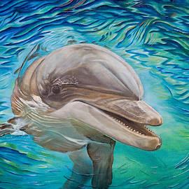 Delphin by Olaf Plantener