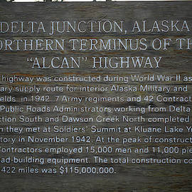 Delta Junction Alaska 3058 by Ericamaxine Price