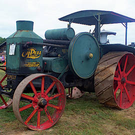 Denton Farm Park Tractor 39 Color by Joseph C Hinson
