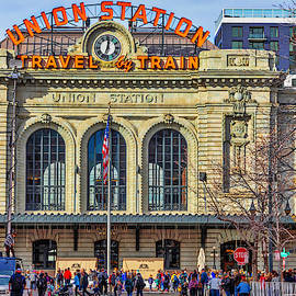 Denver Union Station #2 by Lorraine Baum