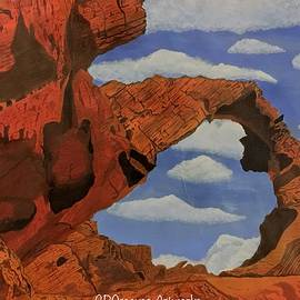 Desert Arch by CR Greaves