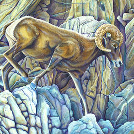 Desert Ram by Tish Wynne
