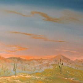 Desert Sun Rise by Edward Theilmann