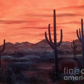 Desert Sunrise by Lee Piper