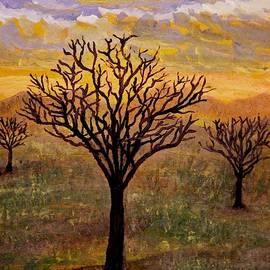 Desert Trees by Edward Theilmann