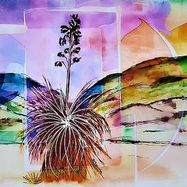 Desert Yucca Abstract by Barbara Chichester