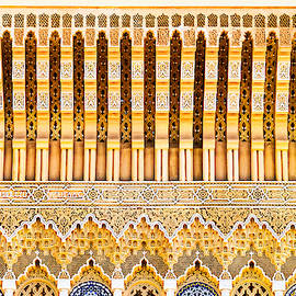 Details Above the Palace Doors - Morocco by Stuart Litoff