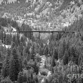 Devils Gate in Black and White by Jon Burch Photography