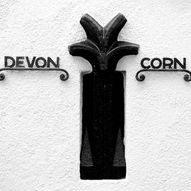 Devon Cornwall Boundary Marker II by Helen Northcott