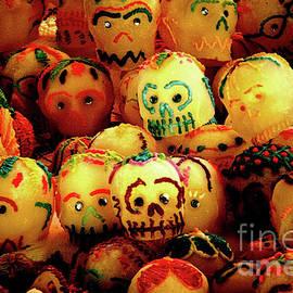 Dia de los Muertos Candy skulls by Tatiana Travelways