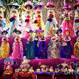 Dia De Los Muertos Spooky Candy Catrinas by Tatiana Travelways