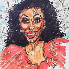 Diana Ross The Supreme  by Geraldine Myszenski