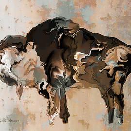 Montana Bison 6D by Kae Cheatham