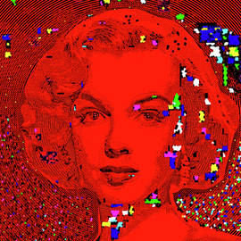 Digital Marilyn Monroe