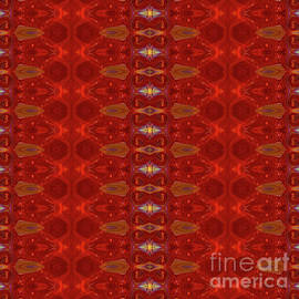 Patterns Colorful - Ruby Red Modern Pattern - By Omaste Witkowski by Omaste Witkowski