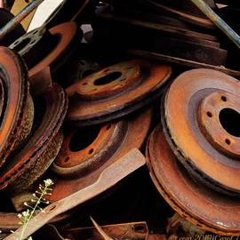 Disk Brake Rotors by Carol J Deltoro