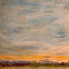 Distant Range and Warm Sky by Desmond Raymond