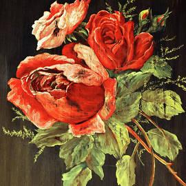Distressed Roses by Malanda Warner