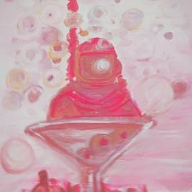 Dive Bar Redux in Pink by Debora Lewis