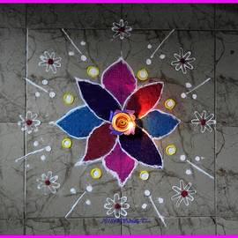 Diwali decor by Sonali Gangane
