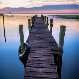 Dock Into Dawn by Debra and Dave Vanderlaan
