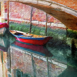 Docked by the Bridge by Claude LeTien