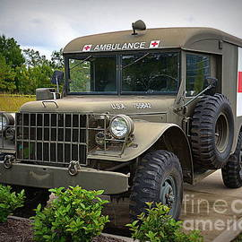 Dodge Ambulance by Tru Waters