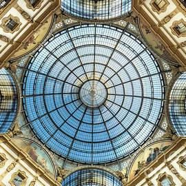 Dome of Galeria Vittorio Emanuele II Milano by Pixelme Photography