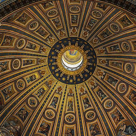 Dome of Saint Peter's by Dimitris Sivyllis