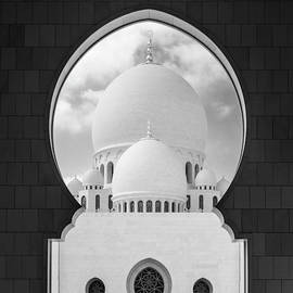 Domes of Sheikh Zayed Grand Mosque by Alexey Stiop