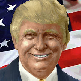 Donald Trump - DWP1909045 by Dean Wittle