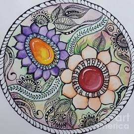 Doodled Gem  by Molshree Ambastha