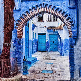 Doors Through the Archway - Morocco by Stuart Litoff
