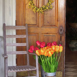 Doorway, Beaufort, South Carolina by Jerry Griffin