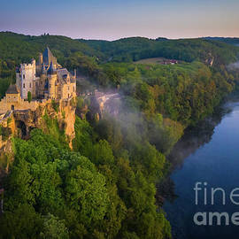 Dordogne Chateau by Inge Johnsson