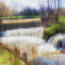 Double Falls by Jim Lepard