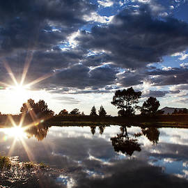 Double Sunset by Dave Wilson
