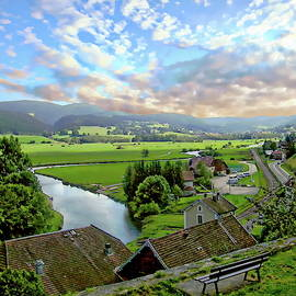 Doubs Valley by Anthony Dezenzio