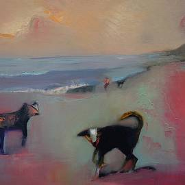 Down by the sea, the sands dance and sing by Suzy Norris