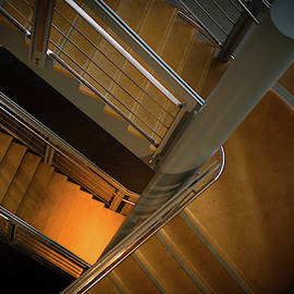Down Stairs by Michael Hills