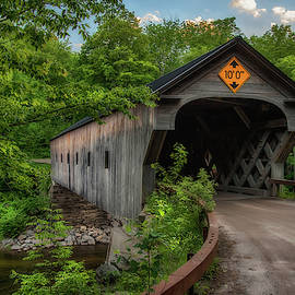 Downers Covered Bridge - Vermont by Joann Vitali