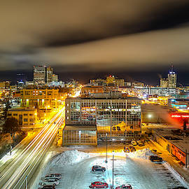 Downtown Anchorage by R van Agt
