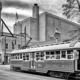 Downtown Memphis - Black And White by Susan Rissi Tregoning