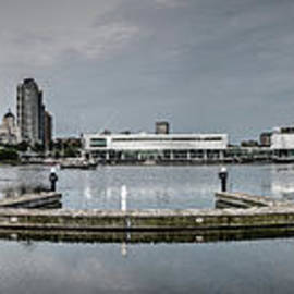 Downtown Milwaukee ...  A Panoramic View by Deborah Klubertanz