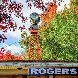 Gregory Ballos - Downtown Rogers Arkansas Covered in Autumn Colors