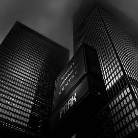 Downtown Toronto Fogfest No 15 by Brian Carson