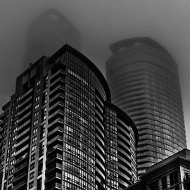 Downtown Toronto Fogfest No 22 by Brian Carson