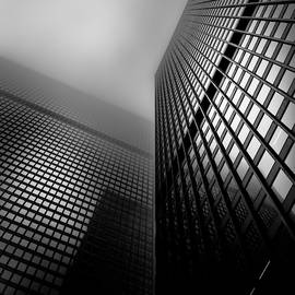 Downtown Toronto Fogfest No 27 by Brian Carson